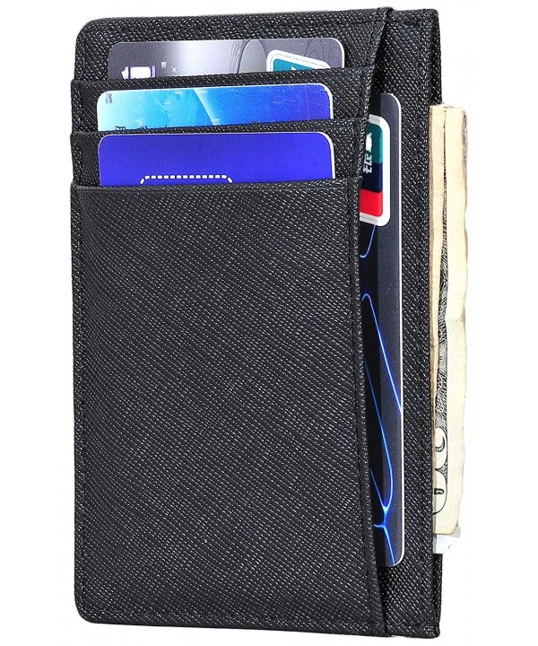 Woogwin Pocket Wallet Leather Vertical