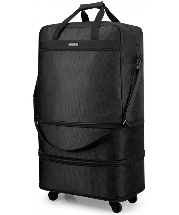 Hanke Expandable Foldable Suitcase Luggage