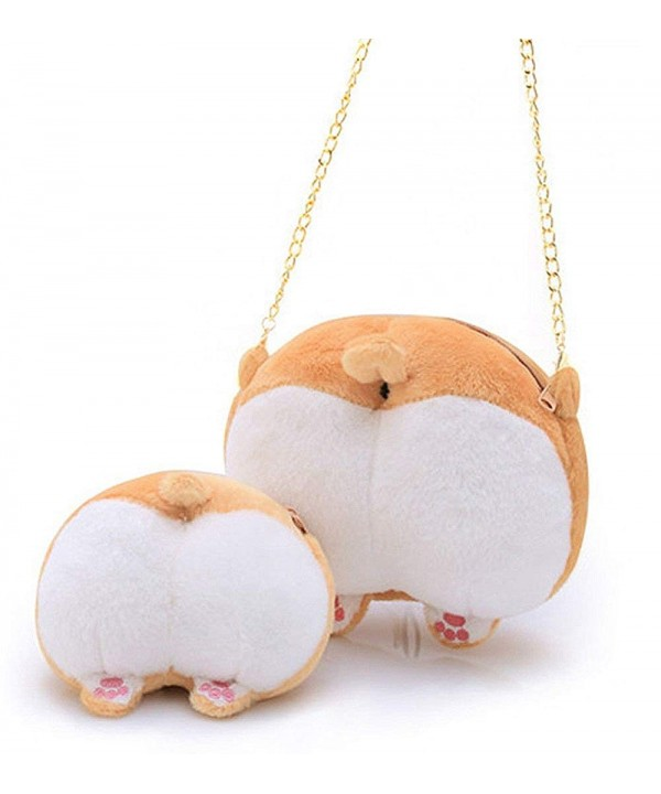 Corgi Shaped Shoulder Handbag Wallet
