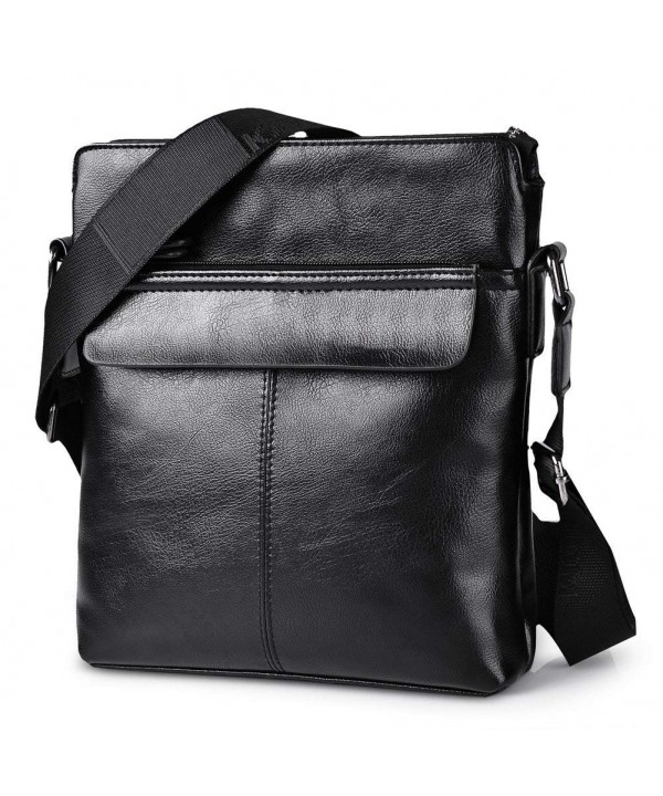 Shoulder Messenger Leather Business Briefcase