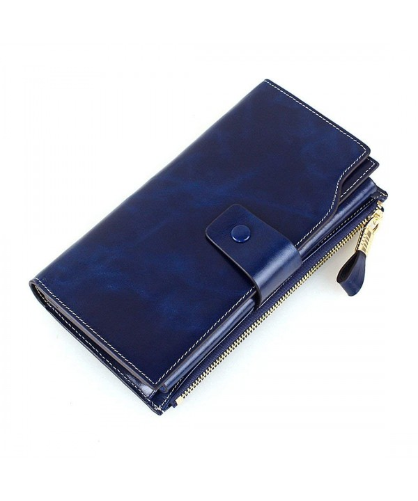 Blocking Capacity Clutch Wallet Organizer