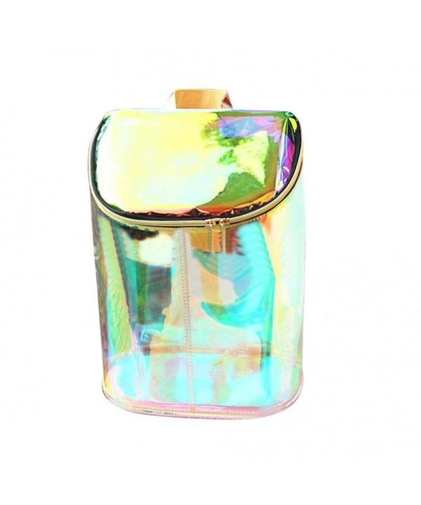 Zerlar Transparent Holographic Envelope Backpack