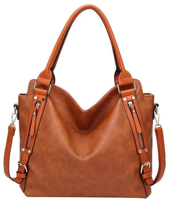 ilishop Leather Handbags Capacity Shoulder