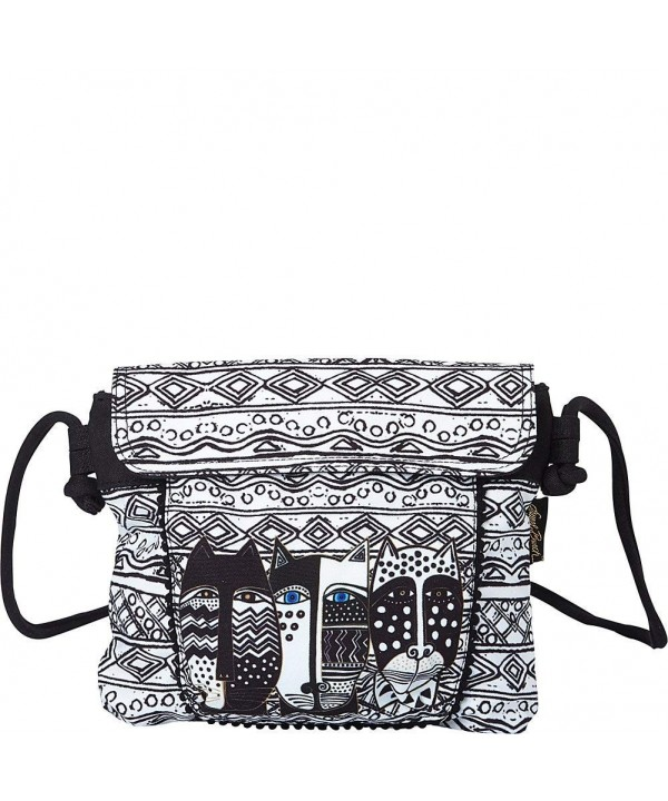 Laurel Burch Black White Crossbody