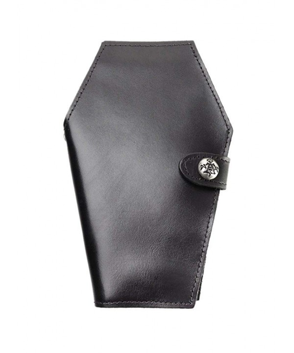 Alchemy Gothic Coffin Leather Wallet