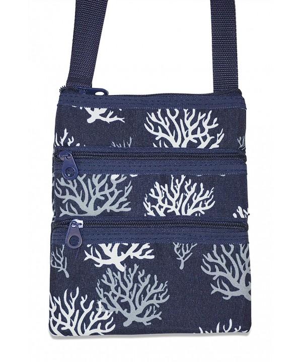 Ever Moda Coral Crossbody Bag