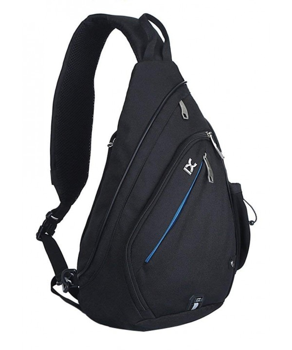 Pioneeryao sling backpack pack Black