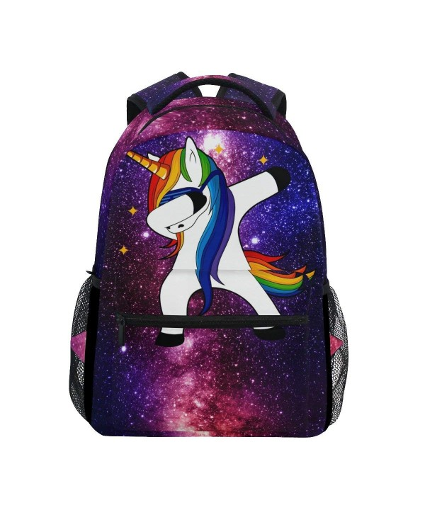 ZZKKO Unicorn Backpacks Camping Daypack