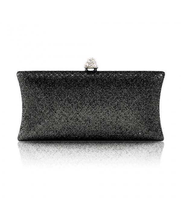Damara Crystal Glitter Blotch Handbag