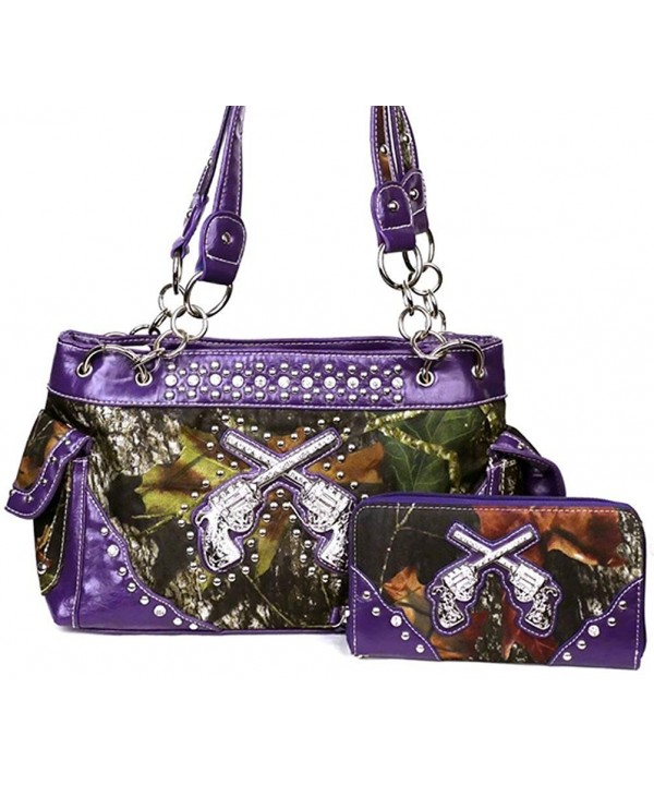 Western Crossed Camouflage Handbag Matching