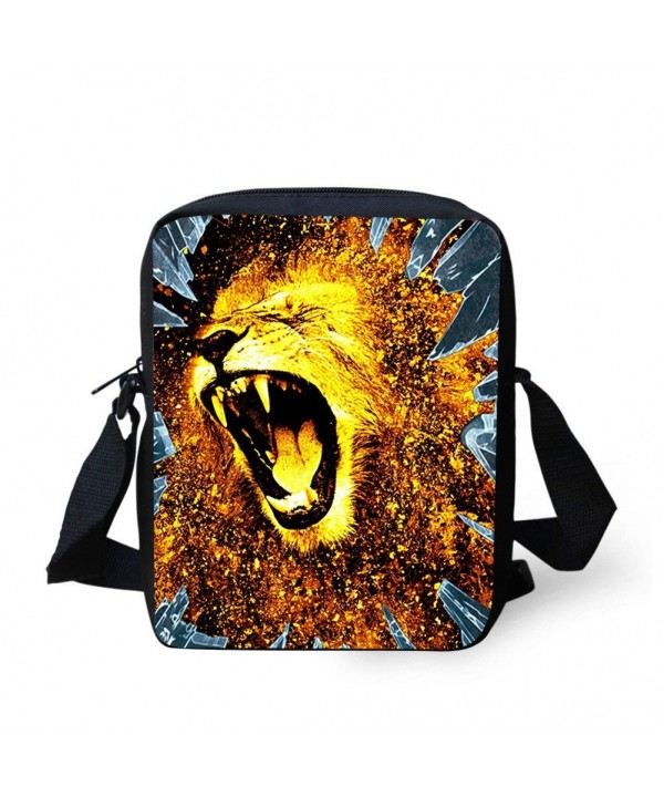 Coloranimal Cool Crossbody Shoulder Bookbags