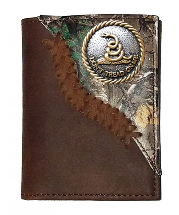 Custom Tread Realtree trifold wallet