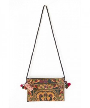 Changnoi Mocha Tribe Crossbody Embroidered