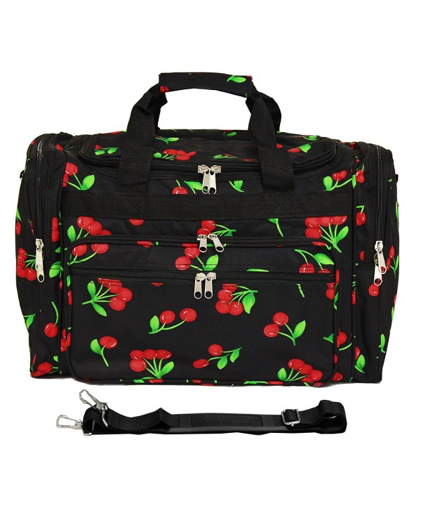 Luggage Duffle Bag Cherry Size