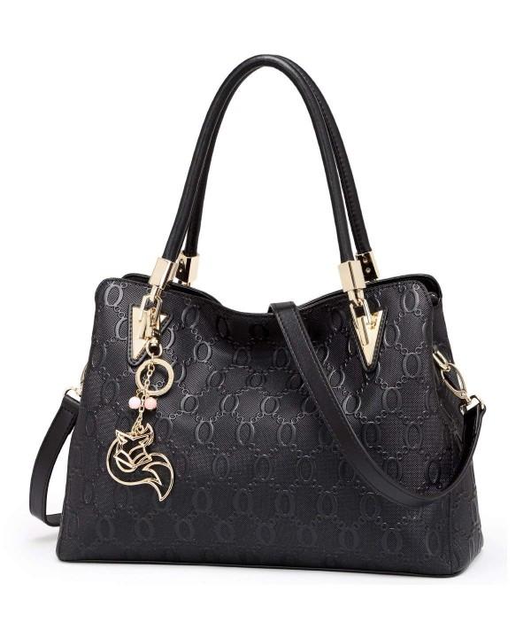 FOXER Leather Handbag Shoulder Clearance