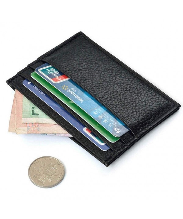 DZT1968 Leather Credit Holder Wallet