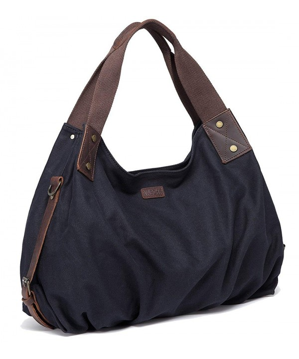 VASCHY Vintage Leather Detachable Shoulder