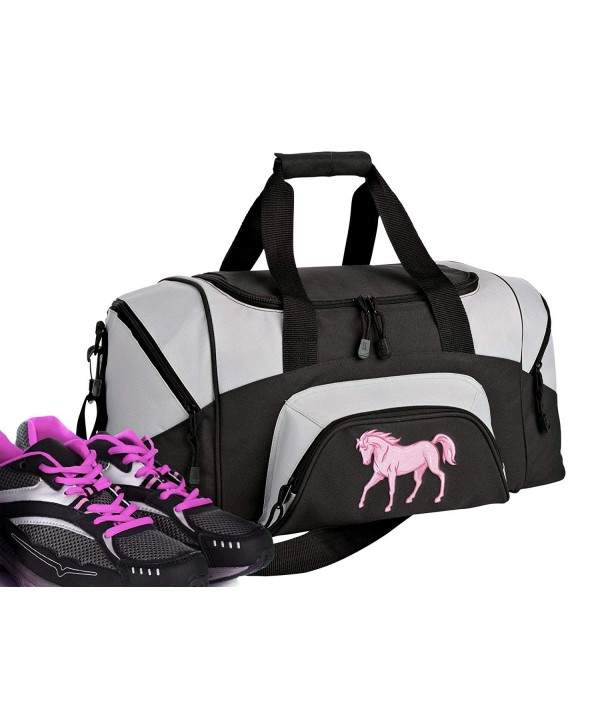 SMALL Horse Theme Duffel Suitcase