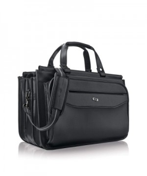 Harrison Triple Compartment Laptop Briefcase