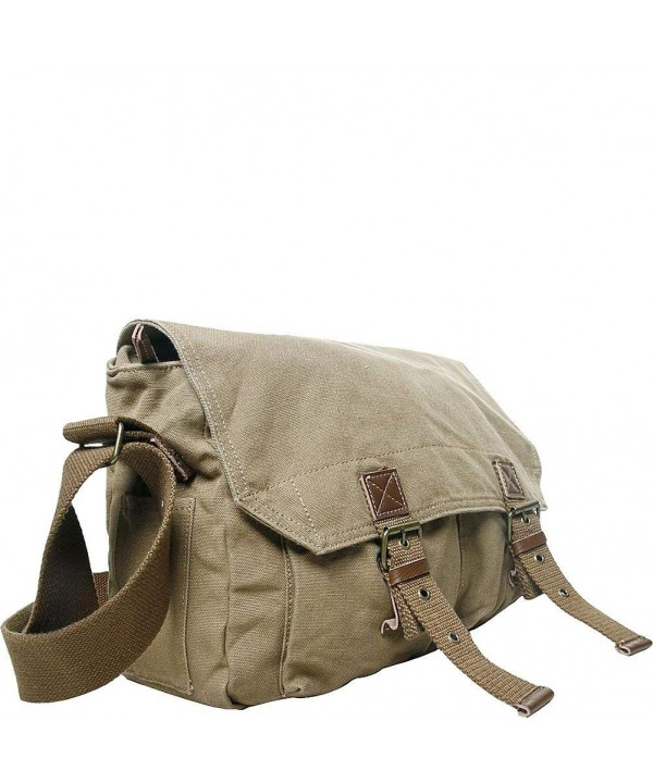 Vagabond Traveler Washed Canvas Messenger
