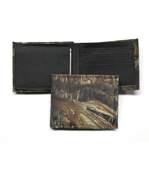 Camo Bifold Wallet Mossy Pattern