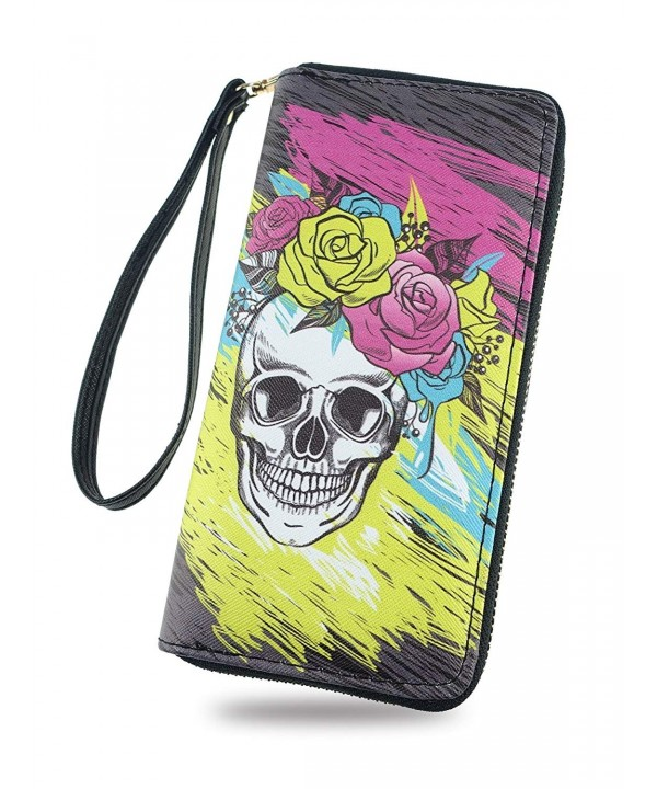 Cartoon Wallet Ladies Removable Wristlet