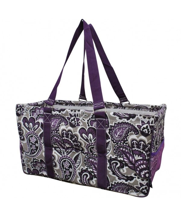 Purple Paisley NGIL Utility Shopping
