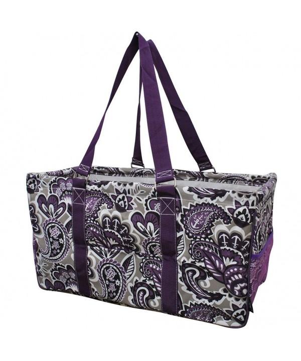 Purple Paisley NGIL Utility Shopping