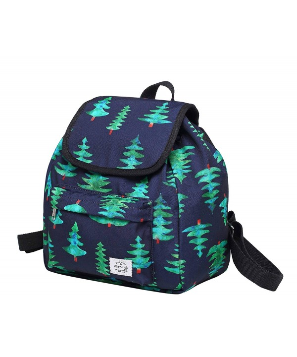MIETTE Small Backpack Purse GreenChristmasTree