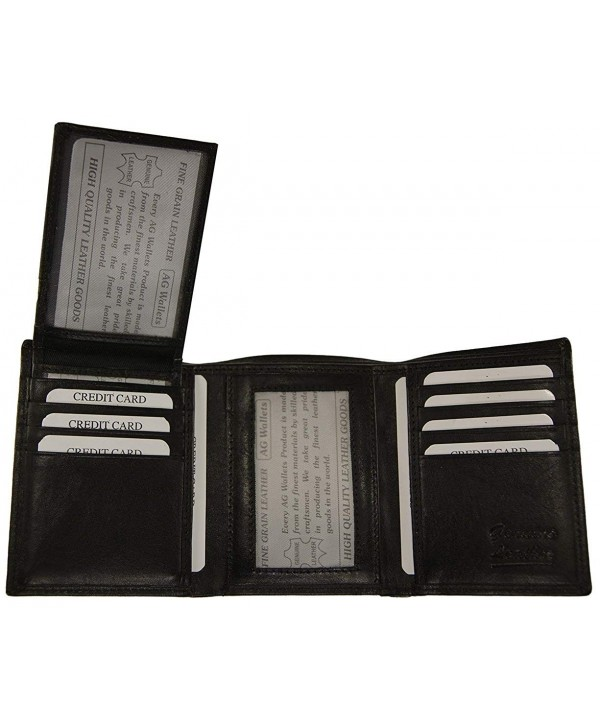 Wallets Premium Trifold Removable Credit