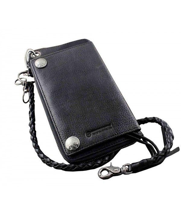 Biker Rocker Genuine Leather Wallet