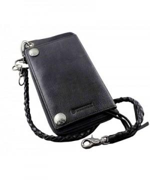 Biker Rocker Genuine Leather Wallet
