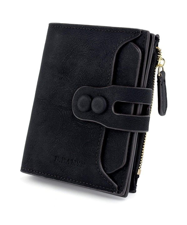 UTO Leather Wallet Organizer Closure