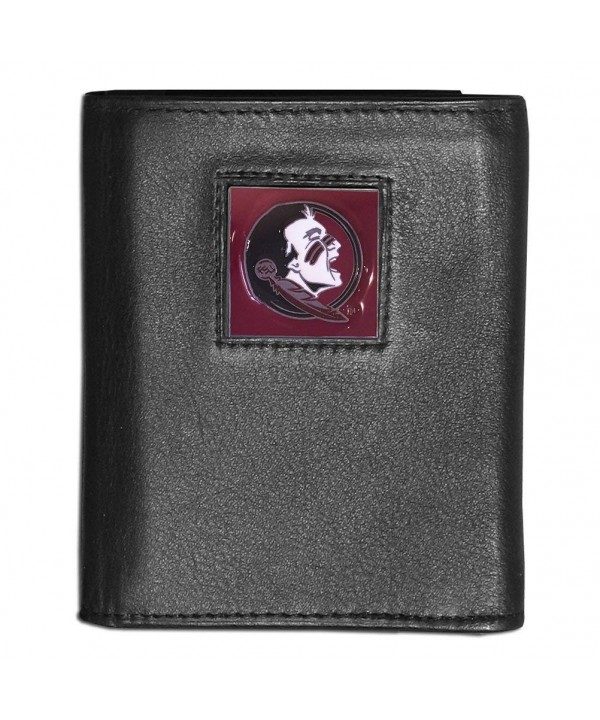 College Tri fold Leather Wallet Seminoles