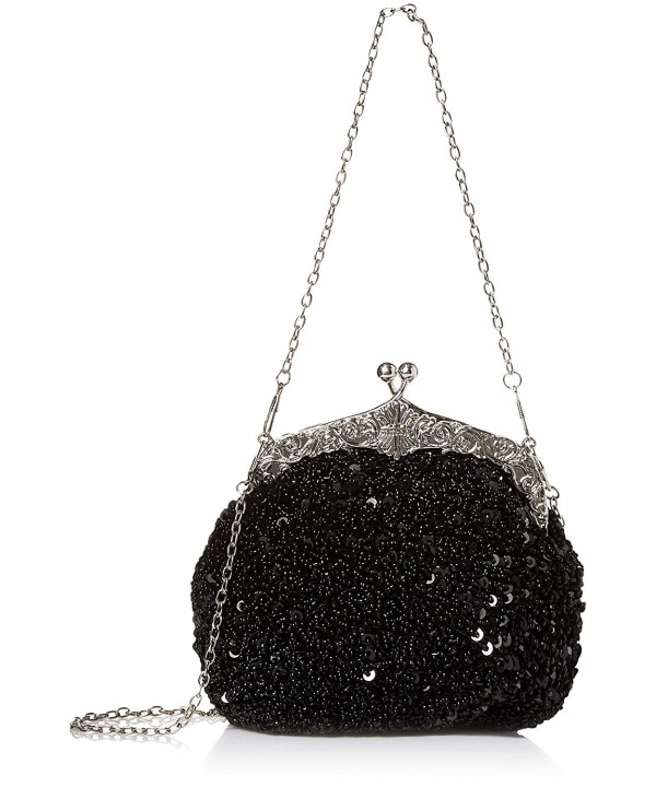 Chicastic Sequined Antique Cocktail Clutch