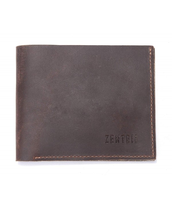 ZENTEII Genuine Leather Bifold Wallet