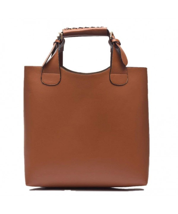 Shoulder Handbags Messenger Satchels Brown 1