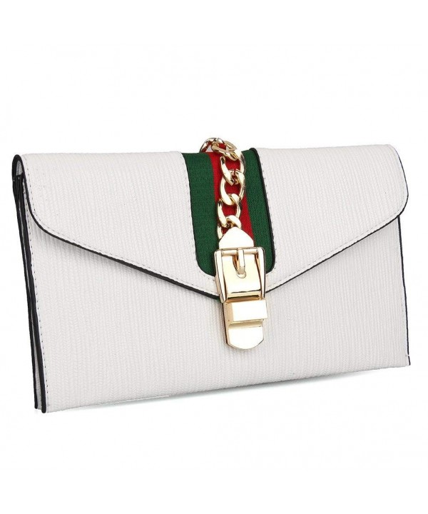 Designer Evening Envelope Clutch Wristlet