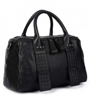 YALUXE Genuine Leather Shoulder Bidirectional