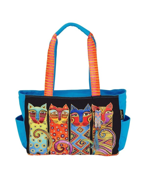 Laurel Burch Feline Medium Handbag