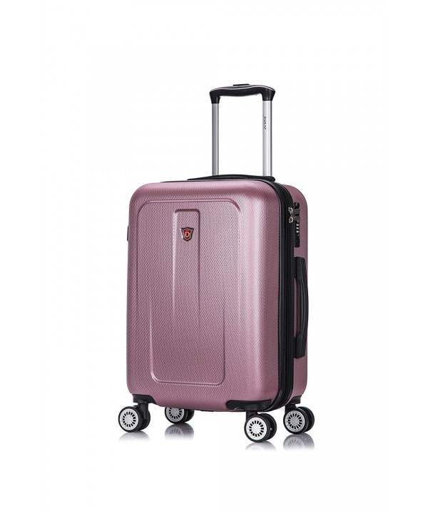 DUKAP Luggage Lightweight Hardside Spinner