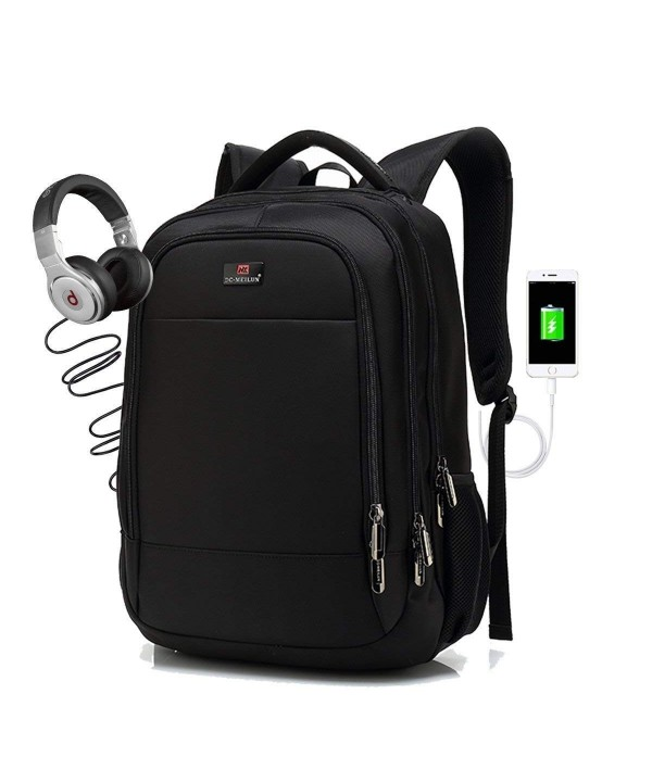 Splink Business Rucksack Headphone Water Resistent