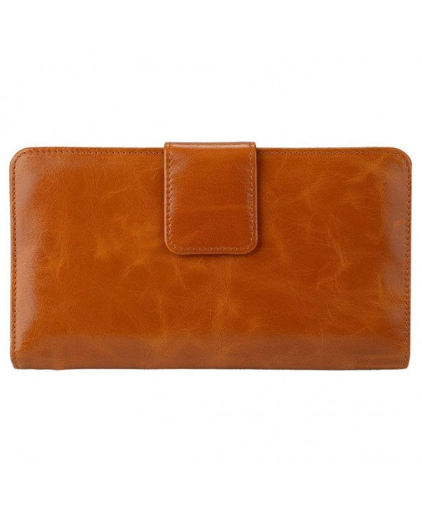 YALUXE Genuine Leather Organizer Passport