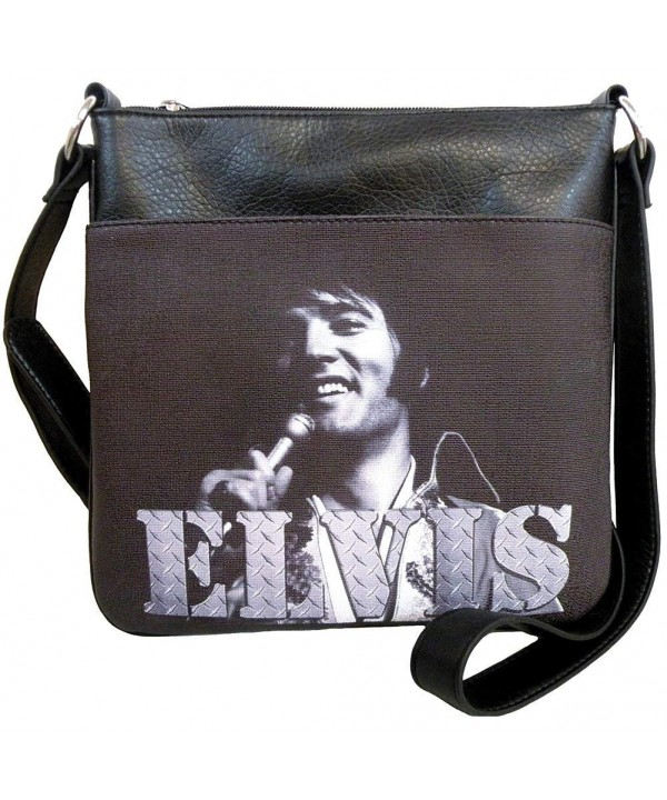 Elvis Presley Cross Synthetic Leather