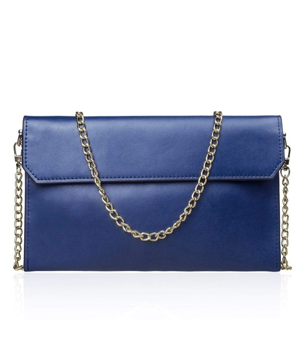S ZONE Envelope Clutches Wristlet Shoulder