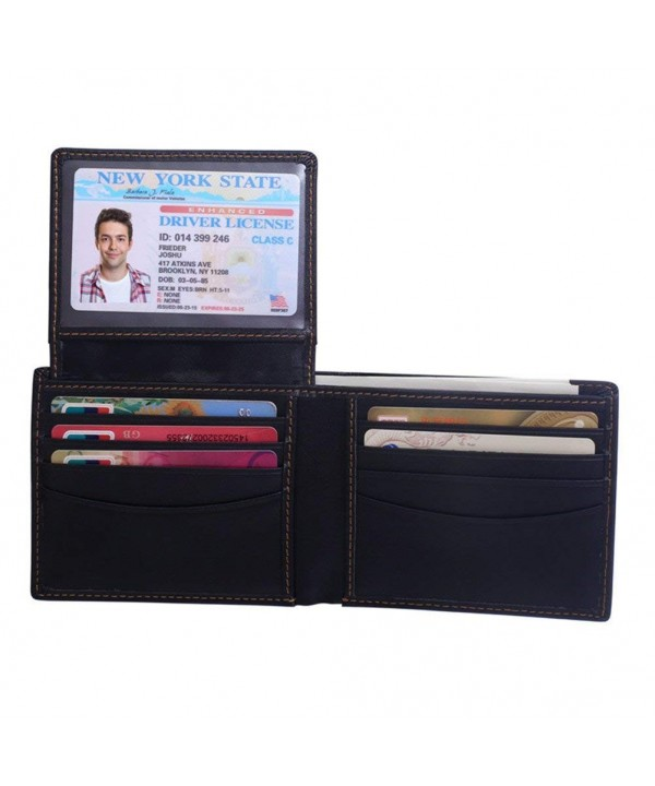 Blocking Genuine Leather Wallets Fathers