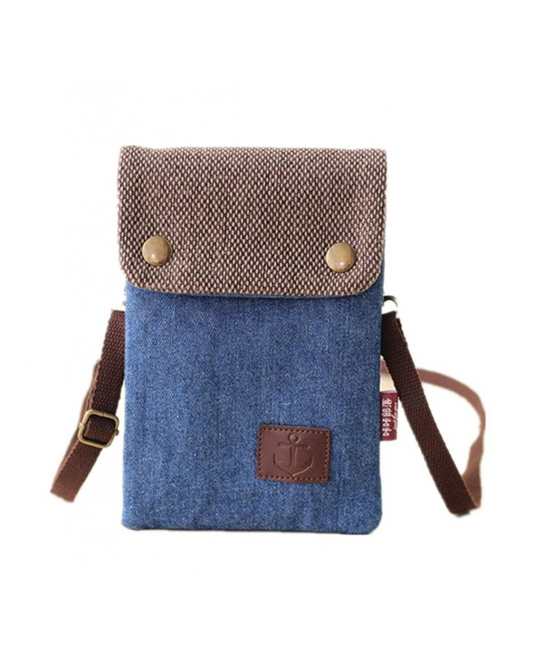 YaJaMa Canvas Shoulder Crossbody Cellphone