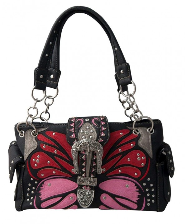 HW Collection Butterfly Rhinestone Concealed