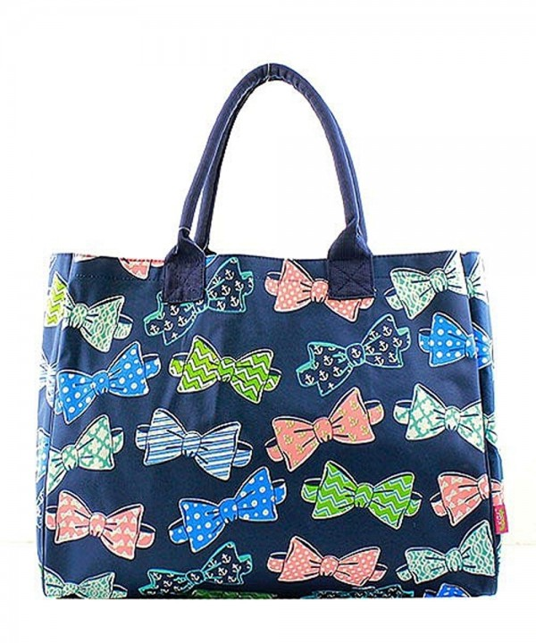 Print Canvas Lightweight Large Tote