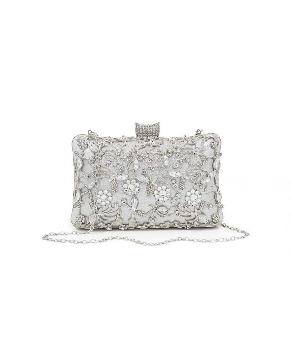 FIVE FLOWER Rhinestone Handbags Shoulder